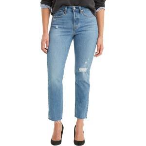リーバイス カジュアルパンツ ボトムス レディース Levi's Women's Premium Wedgie Fit Jeans Jive Taps|astyshop