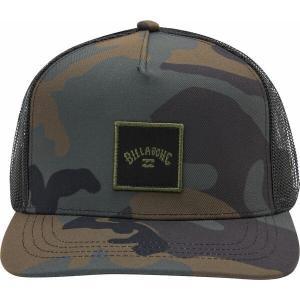 ビラボン 帽子 アクセサリー メンズ Billabong Men's Stacked Trucker Hat Camo|astyshop