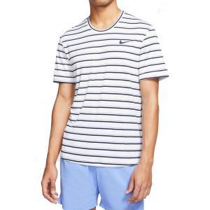 ナイキ Tシャツ トップス メンズ Nike Men's NikeCourt Dri-FIT Graphic Tennis T-Shirt White astyshop
