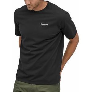 パタゴニア Tシャツ トップス メンズ Patagonia Men's Fitz Roy Horizons Responsibili-Tee T-Shirt Black astyshop