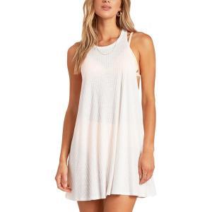 ビラボン ワンピース トップス レディース Billabong Women's Sandy Sea Cover Up Dress Salt Crystal|astyshop