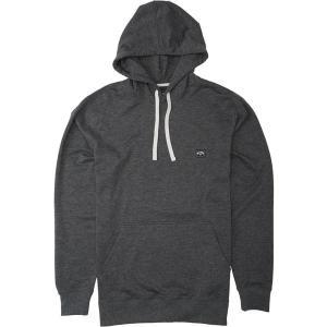 ビラボン パーカー・スウェットシャツ アウター メンズ Billabong Men's All Day Pullover Hoodie Black|astyshop