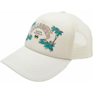 ビラボン 帽子 アクセサリー レディース Billabong Women's Aloha Forever Trucker Hat Salt Crystal|astyshop