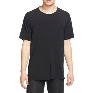 ナイキ Tシャツ トップス メンズ Nike Men's Dri-FIT Short Sleeve T-Shirt Black/Black astyshop
