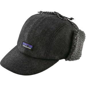 パタゴニア 帽子 アクセサリー メンズ Patagonia Men's Recycled Wool Ear Flap Cap ClassicNavy astyshop
