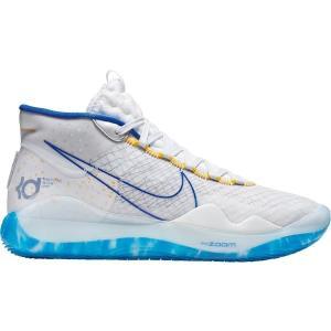 ナイキ シューズ メンズ バスケットボール Nike Zoom KD 12 Basketball Shoes White/RoyalBlue|astyshop