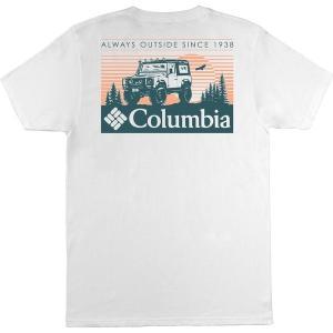 コロンビア Tシャツ トップス メンズ Columbia Men's Crawling Jeep Short Sleeve T-Shirt White astyshop