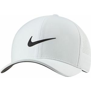 ナイキ 帽子 アクセサリー メンズ Nike Men's Aerobill Classic99 Perforated Golf Hat Photon Dust/Black astyshop