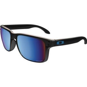 オークリー サングラス・アイウェア アクセサリー メンズ Oakley Holbrook Prizm Deep Water Polarized Sunglasses Black/Deep Blue astyshop