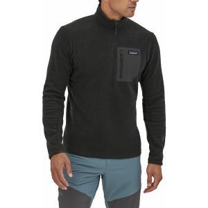 パタゴニア ジャケット&ブルゾン アウター メンズ Patagonia Men's R1 Air Zip Neck Black astyshop