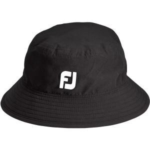 フットジョイ 帽子 アクセサリー メンズ FootJoy Men's DryJoys Tour Bucket Golf Hat Black astyshop