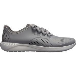 クロックス スニーカー シューズ メンズ Crocs Men's LiteRide Pacer Shoes Charcoal/Grey astyshop