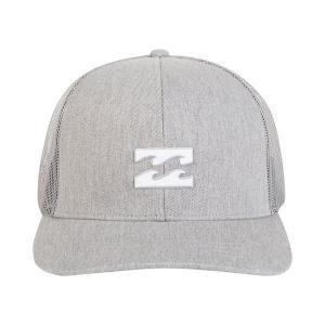 ビラボン 帽子 アクセサリー メンズ Billabong Men's All Day Trucker Hat Heather Grey|astyshop