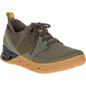 メレル ブーツ&レインブーツ メンズ シューズ Merrell Men's Tideriser Lace Shoe Olive|astyshop