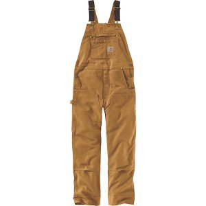 カーハート カジュアル メンズ ボトムス Carhartt Men's R01 Duck Bib Overall Carhartt Brown|astyshop