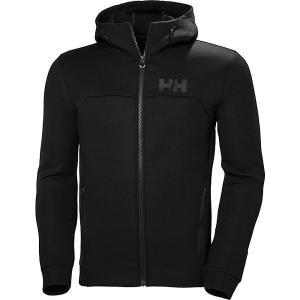 ヘリーハンセン パーカー・スウェットシャツ メンズ アウター Helly Hansen Men's HP Ocean FZ Hoodie Black|astyshop