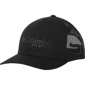コロンビア 帽子 メンズ アクセサリー Columbia PFG Mesh Snap Back Ball Cap Black / Hook|astyshop