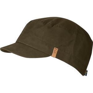 フェールラーベン 帽子 メンズ アクセサリー Fjallraven Singi Trekking Cap Dark Olive astyshop