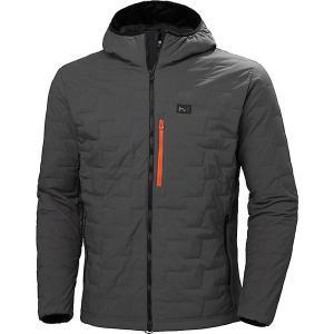 ヘリーハンセン ジャケット&ブルゾン メンズ アウター Helly Hansen Men's Lifaloft Hooded Stretch Insulator Jacket Charcoal|astyshop