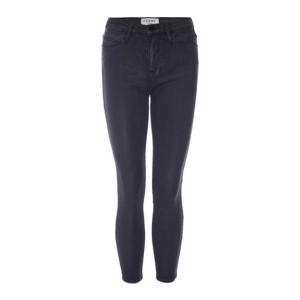 フレーム レディース デニム ボトムス Le High Rise Skinny Leg Jean in Stone Coated Wash Stone Coated|astyshop