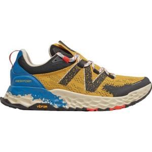 ニューバランス メンズ スニーカー シューズ Fresh Foam Hierro v5 Trail Running Shoe Varsity Gold/Neo Classic Blue astyshop