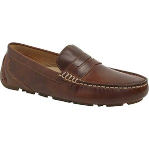 トップサイダー メンズ スリッポン・ローファー シューズ Gold Cup Harpswell Penny Loafer Leather Brown Full Grain Leather|astyshop