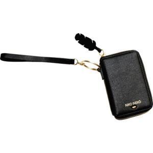 アンクリーク レディース 財布 アクセサリー Holiday Keychain Charm Wristlet Black astyshop