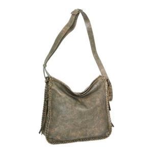 ニノボッシ レディース 財布 アクセサリー Shauna Leather Shoulder Bag Green astyshop