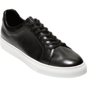 コールハーン メンズ スニーカー シューズ Jensen Sneaker Black Leather astyshop