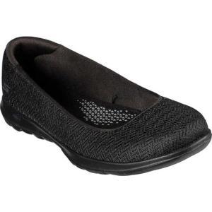 スケッチャーズ レディース サンダル シューズ GOwalk Lite Fabulous Skimmer Black/Black astyshop