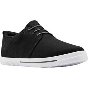 アンダーアーマー メンズ スニーカー シューズ Street Encounter IV CNV Sneaker Black/Black/White astyshop