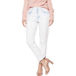 ペイジ レディース デニム ボトムス Sarah High Rise Straight Jean in Blue Burst Blue Burst|astyshop
