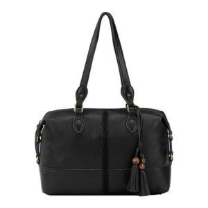 ザサック レディース 財布 アクセサリー Laurel Canyon Satchel Black Soft Pebble Leather astyshop