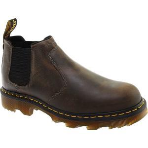 ドクターマーチン メンズ ブーツ&レインブーツ シューズ Penly Low Cut Utility Chelsea Boot Black Greenland Full Grain Leather|astyshop