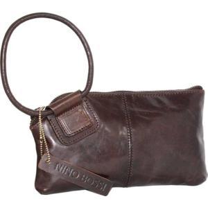 ニノボッシ レディース 財布 アクセサリー Remi Leather Ringed Clutch Chocolate astyshop