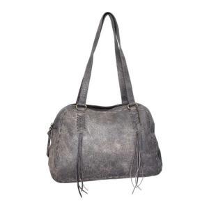 ニノボッシ レディース 財布 アクセサリー Yara Leather Bowler Bag Grey astyshop