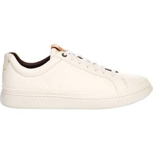 アグ メンズ スニーカー シューズ Cali Sneaker Low White Full Grain Leather astyshop