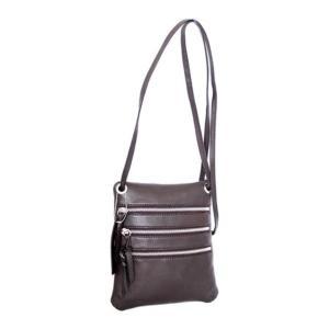 ニノボッシ レディース 財布 アクセサリー Carolina Crossbody Bag Chocolate Leather astyshop