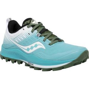 サッカニー レディース スニーカー シューズ Peregrine 10 ST Trail Running Shoe Blue/White astyshop