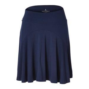 ロイヤルロビンズ レディース スカート ボトムス Essential Tencel Pleated Skirt Deep Blue|astyshop