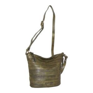 ニノボッシ レディース 財布 アクセサリー Saige Crossbody Bag Green Leather astyshop