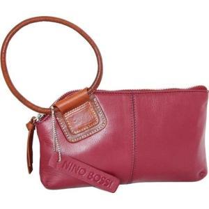 ニノボッシ レディース 財布 アクセサリー Skye Leather Ringed Clutch Cabernet astyshop