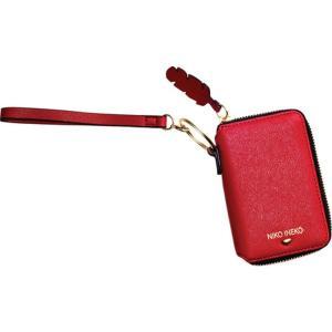 アンクリーク レディース 財布 アクセサリー Holiday Keychain Charm Wristlet Crimson Crush astyshop