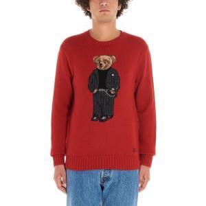 ラルフローレン ニット、セーター メンズ アウター 'teddy' Sweater Red