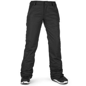 ボルコム レディース カジュアルパンツ ボトムス Volcom Frochickie Insulated Pants - Women's Black|astyshop