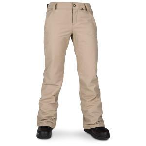 ボルコム レディース カジュアルパンツ ボトムス Volcom Frochickie Insulated Pants - Women's Sand Brown|astyshop