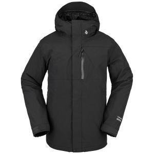 ボルコム メンズ ジャケット&ブルゾン アウター Volcom L GORE-TEX Jacket Black|astyshop