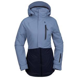 ボルコム レディース ジャケット&ブルゾン アウター Volcom Pine 2L TDS Jacket - Women's Washed Blue|astyshop