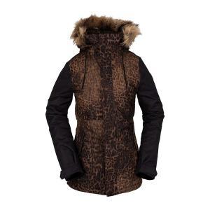 ボルコム レディース ジャケット&ブルゾン アウター Volcom Fawn Insulated Jacket - Women's Black Combo|astyshop