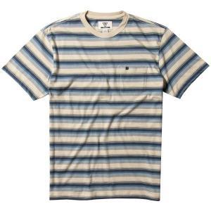 ヴィスラ メンズ Tシャツ トップス Vissla Velva Pocket T-Shirt Stone Blue astyshop